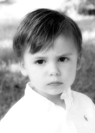 Portrait Childrens 5726 BW SG